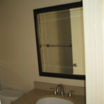 17128 Bathroom mirror and sink